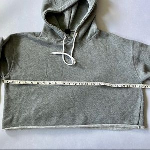 wild fable Tops - Wild Fable Gray Cropped Hoodie